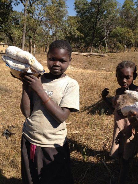 Girl in Zambia